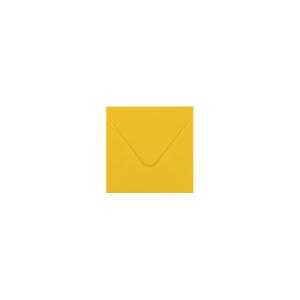 Envelop Vierkant S - Goudgeel