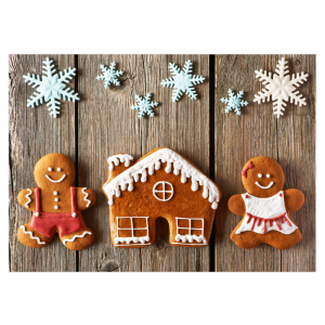 samenwonen kerst kaart verhuizen verhuiskaart samen intrekken gingerbread kerst