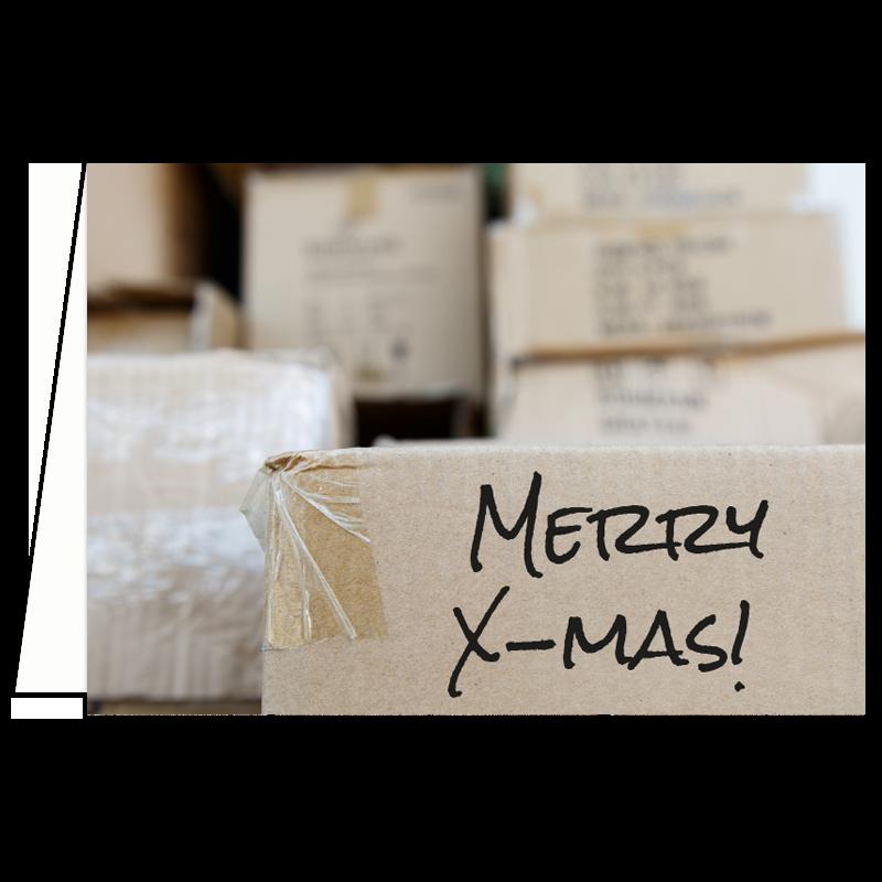 Verhuis kerstkaart verhuisbericht adreswijziging kerst
