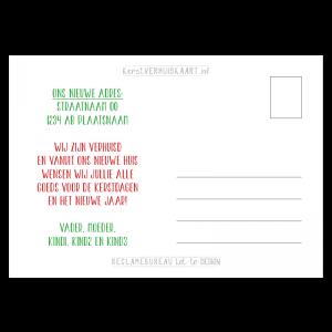 tekst verhuisbericht kerst eigen tekst kleur proef